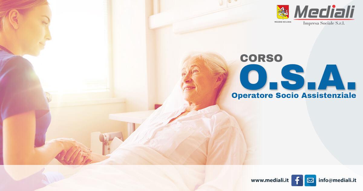Corso per Operatore Socio Assistenziale (OSA)