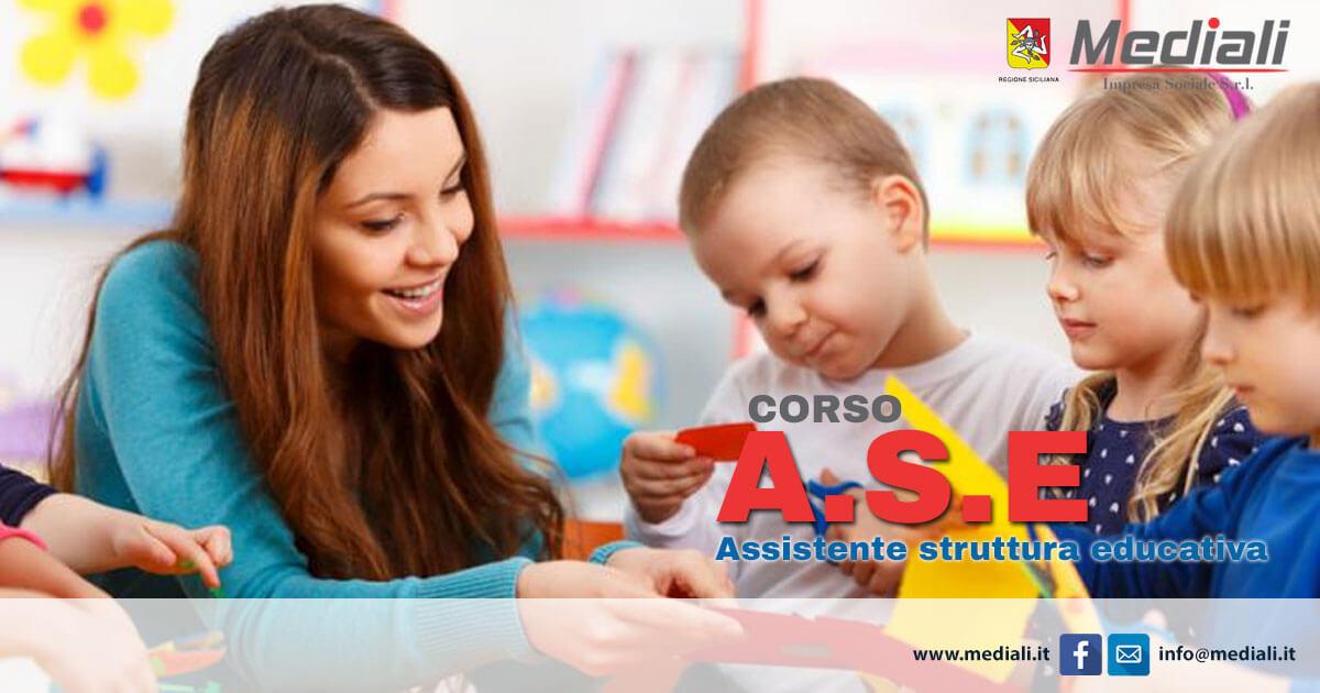 Corso per Assistente alla Struttura Educativa (ASE)
