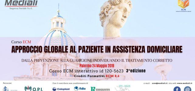 ECM Approccio globale al paziente in assistenza domiciliare 3° Edizione