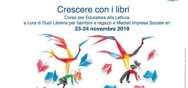 Evento Crescere con i libri educare alla lettura ott 2019