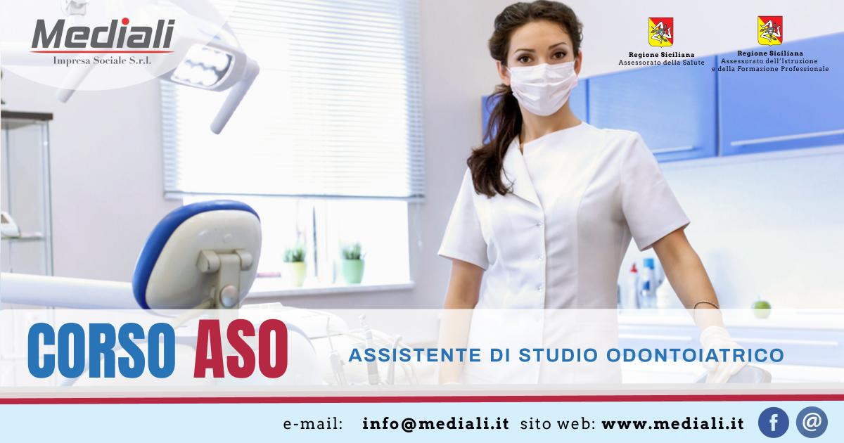 Corso ASO  Assistente di studio Odontoiatrico  - Mediali.it