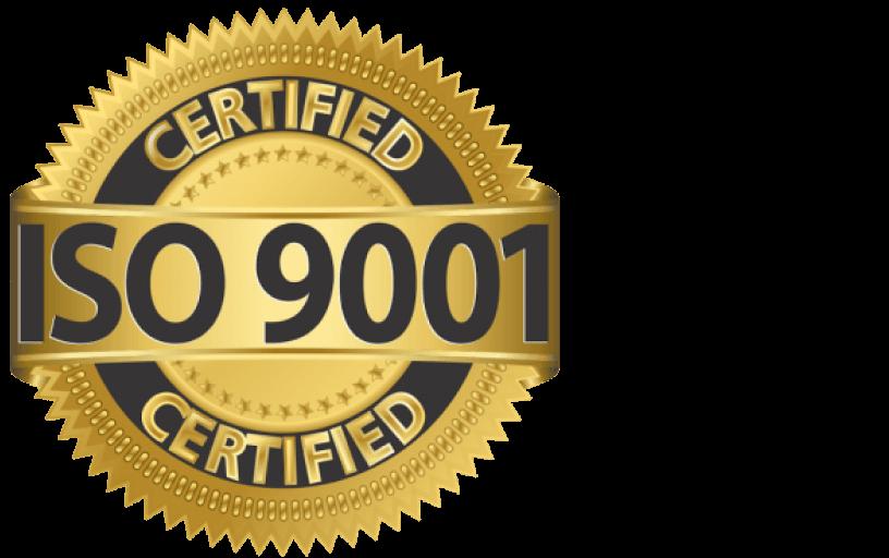 Certificato di Qualità ISO 9001:2015
