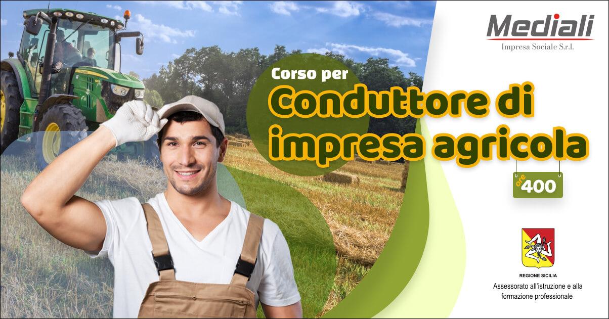 Corso per Conduttore impresa agricola