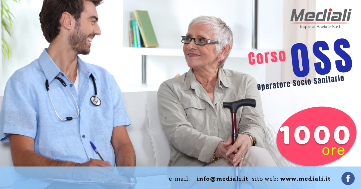 OSS Operatore Socio Sanitario 1000 ore- Mediali.it